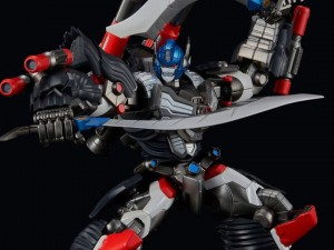 VIdeo Showing Articulation for Flame Toys Furai Optimus Primal Action Figure