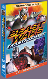 Reminder: Shout! Factory releases Beast Wars Season 2 and 3 on DVD TODAY!