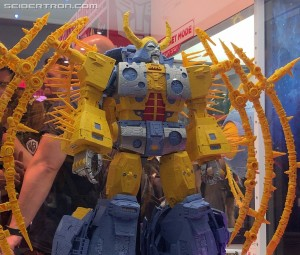 Transformers News: YouTube Video of HasLab Transformers Unicron from all Sides from #SDCC2019