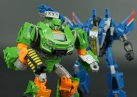 Transformers News: New Galleries: Generations IDW Hoist and Thundercracker