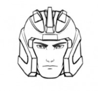 Transformers News: BotCon 2012 Metalhawk Head Concept Sketch