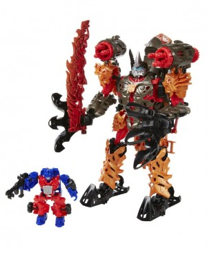 Transformers News: Transformers: Age Of Extinction Constructbots Dinofire Grimlock Official Images