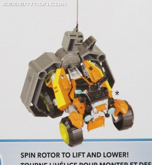 New Unknown ATV Rescue Bots Rescan Figure Found on Blades Packaging