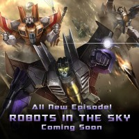 "Transformers News: Mobage Teases Their Next Transformers: Legends Event ""Robots in the Sky"""