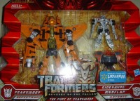 Transformers News: New Walmart ROTF exclusive 3-pack of Fearswoop w/ Sideswipe and Mudflap