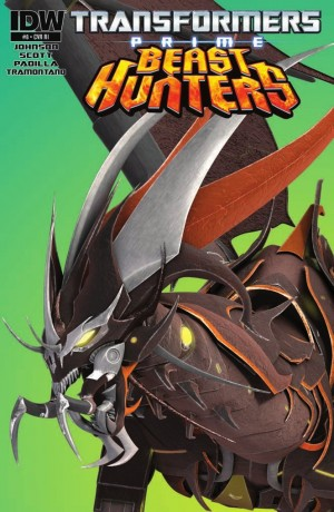 IDW Transformers Prime: Beast Hunters #8 Review