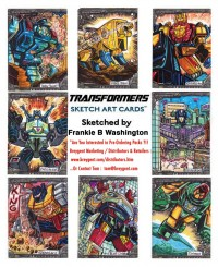Transformers News: More Previews of Breygent Marketings Upcoming Transformers Trading Card Set