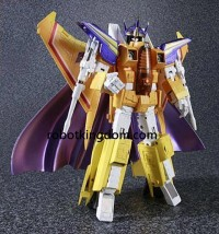 Transformers News: MP-11S Amazon Limited Sunstorm Now Available for Pre-Order at Robotkingdom