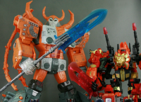 Transformers News: New Images of Junkion Blacksmith Infinity Weapon Set