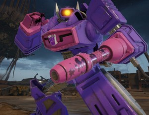 """Shockwave joins Kabam's """"Transformers: Forged To Fight"""" Mobile Fighting Game"""