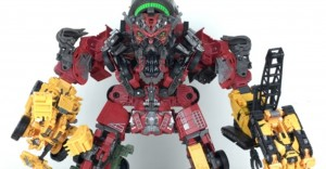 Transformers News: Transformers Studio Series Devastator Review Showing Off Fully Combined Figure