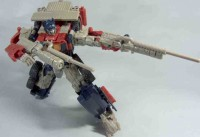 Transformers News: Images of Tokyo Toy Show E-Hobby ROTF Voyager Optimus Prime
