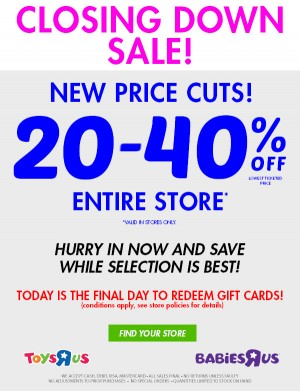 Transformers News: Toys R Us Australia News: Discount Increase, MPM Barricade, Studio Thundercracker