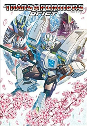 Cover for Japanese Release of Transformers Drift Revealed