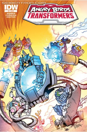 Transformers News: Sneak Peek - IDW Publishing Angry Birds Transformers #3 iTunes Preview