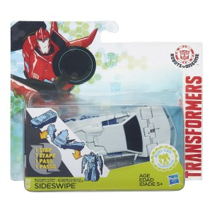 Transformers Robots in Disguise 1-Step Blizzard Strike Sideswipe Review