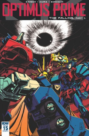iTunes Transformers: Optimus Prime #15 3-page Preview