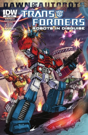 Transformers News: IDW Transformers: Robots in Disguise #29 Review