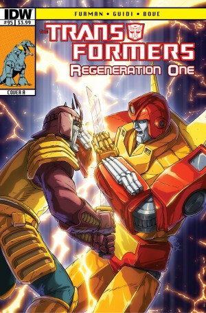 Transformers News: IDW Transformers ReGeneration One #95 Sneak Peek