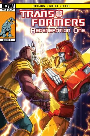 Transformers News: IDW Transformers ReGeneration One #95 Sneak Peek