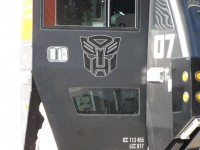 Transformers News: Images from the Sentinel Prime Rosenbauer Panther & Bumblebee Camaro Showing in Fremont, Nebraska