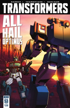 IDW The Transformers #53 Full Preview