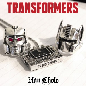 Transformers x Han Cholo Officially Licensed G1 Jewelry Line