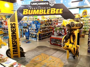 Images of Brazilian Launch of Transformers Bumblebee Movie Toys #JoinTheBuzz #BumblebeeOFilme