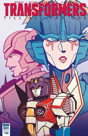 Transformers News: Review for IDW Transformers: Till All Are One Annual 2017 #TAAO