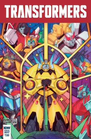 Sneak Peek - iTunes Preview of IDW Transformers Annual 2017: Ghost Stories