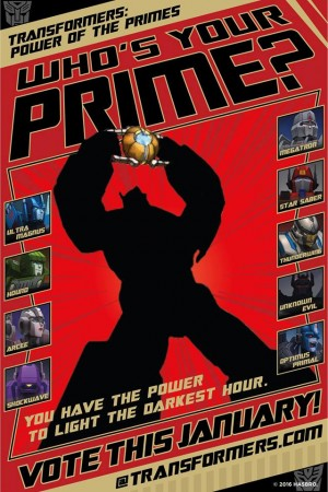 Transformers News: New 'Power of the Primes' Fan Vote Opens Tomorrow, January 23