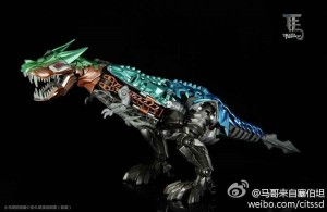 Transformers News: In-Hand Images: Transformers: Age of Extinction Platinum Edition Leader Class Grimlock