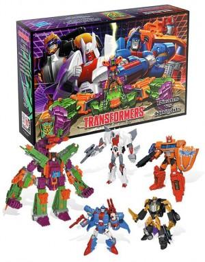 Transformers News: BotCon 2014 Pirates vs. Knights Box Set Group Shot
