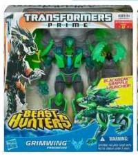 Transformers News: In-Package Images: Transformers Prime Beast Hunters Voyager Wave 3