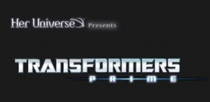 Transformers News: Her Universe and Transformers Prime - Mairghread Scott and the Women of Transformers: Prime