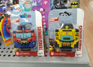 New Transformers Watches Found at Walmart