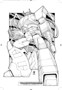 Transformers News: Megatron and Shockwave Sketches from IDW Limited Transformers Volume 1