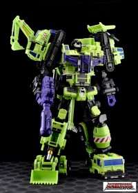 MakeToys MT-03G Giant (Green Ver.) Official Images and Pricing