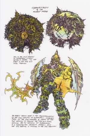 Transformers News: G1 Concept Art by Floro Dery (Image Heavy)