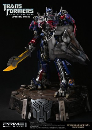 Transformers News: Prime 1 Studios MMTFM-02 Dark of the Moon Optimus Prime Full Reveal