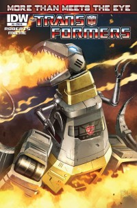 Transformers News: Seibertron.com Reviews IDW Transformers: More Than Meets The Eye Issue #8