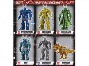 Takara Tomy Transformers: Lost Age Gashapon Keychains