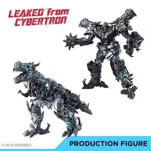 Transformers News: 'Leaked from Cybertron' Images of Transformers Studio Series Grimlock