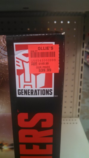 Titans Return Fortress Maximus for $39.99 at Ollie's Bargain Outlet