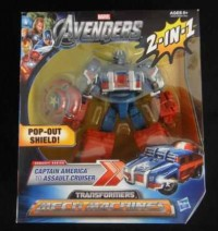 Transformers News: Transformers Marvel Crossovers Reissued as Transformers Mech Machines in Avengers toy line