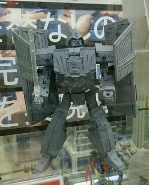Transformers News: Images of Grey Model for Takara Star Wars Powered By Transformer Darth Vader