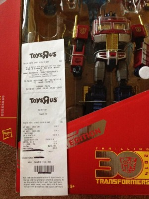 YOTH Optimus Prime Sighted At Retail