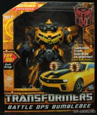 In-Package Images of Battle Ops Bumblebee