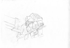 Transformers News: Concept Art of Flame Toys Devastator Set by Akira Amemiya