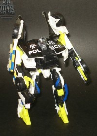 Transformers News: Toy Images of HFTD Barricade and Starscream